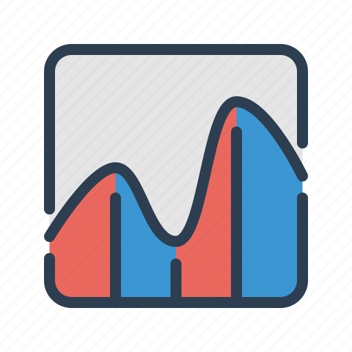analytics, earnings, sales report, stats icon