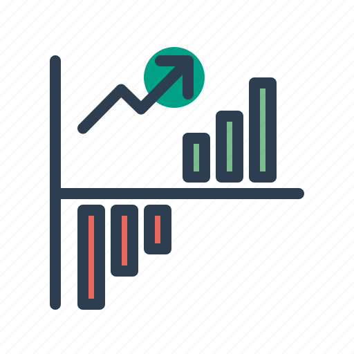 analytics, chart, diagram, financial report, growth, statistics, stats icon