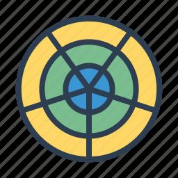 analytics, chart, circular system, diagram, graph, statistics, stats icon