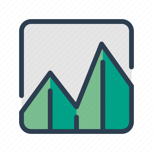 analytics, business report, chart, diagram, sales, statistics, stats icon