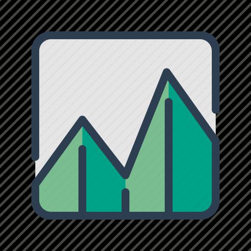 analytics, business report, chart, diagram, sales, statistics, stats icon