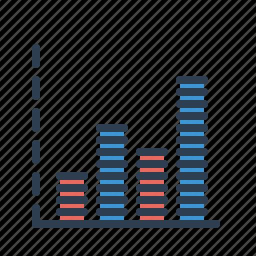 analytics, chart, diagram, seo report, statistics, stats, volume icon