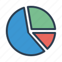 analytics, chart, diagram, pie graph, sales report, statistics, stats icon