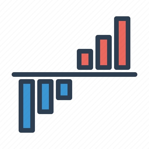 analytics, chart, diagram, growth, sales report, statistics, stats icon
