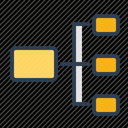 Chart  Diagram  Scheme  Structure Icon