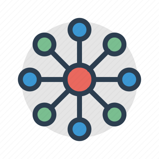 connection, diagram, hierarchy, report, scheme, structure, teamwork icon