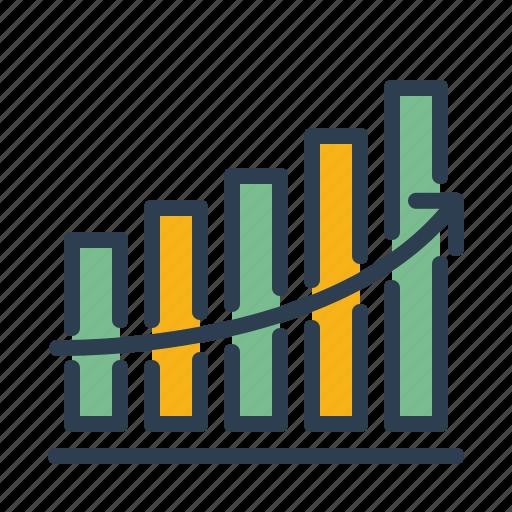 analytics, chart, growth, statistics icon