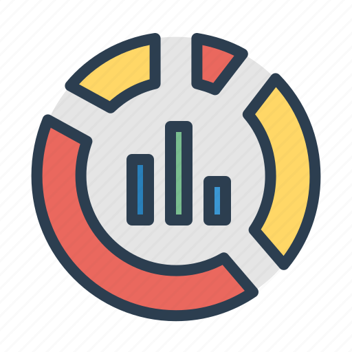 analytics, bar, diagram, graph, pie chart, report, statistics icon