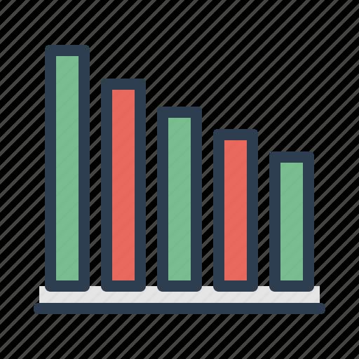 analytics, bar, chart, diagram, graph, report, statistics icon