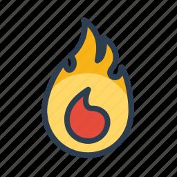 burn, burning, danger, disaster, fire, flame, hot icon