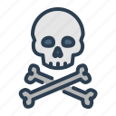 death, skeleton, skull, danger