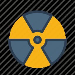 biohazard, disaster, nuclear, radiation, radioactive, reontgen, warning icon