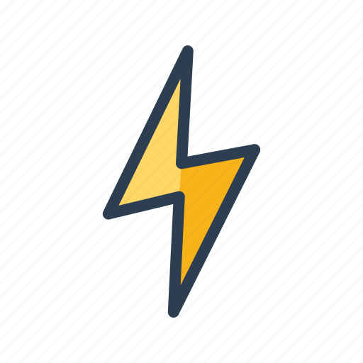disaster, electricity, flash, lightening, storm, thunder, weather icon