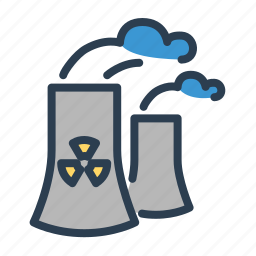 air, danger, disaster, ecology, factory, pollution, spill icon