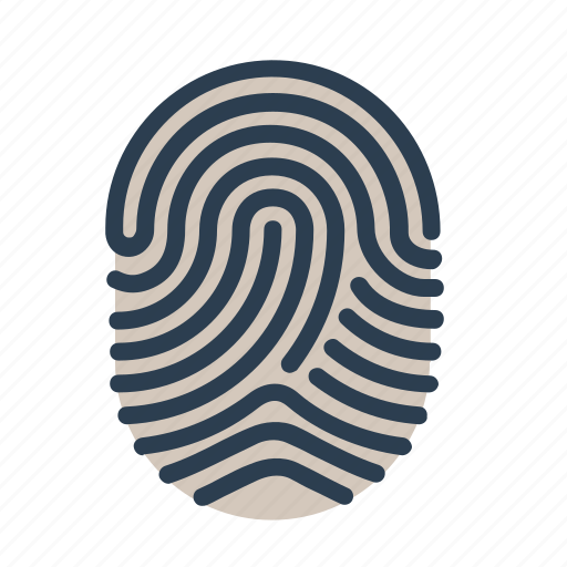 biometric, fingerprint, identification, scan, security, touch, touch id icon
