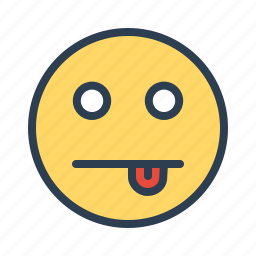 avatar, cheeky, emoticon, emotion, face, smiley, tongue icon
