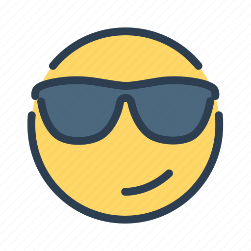 avatar, boss, cool, emotion, face, smiley, sunglasses icon