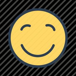 avatar, emoticon, emotion, face, happy, pleased, smiley icon
