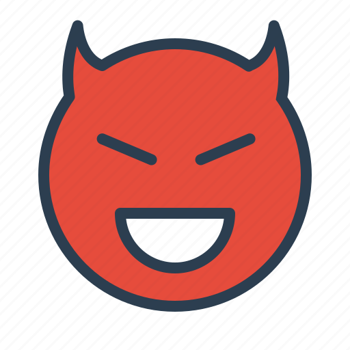 avatar, devil, emoticon, emotion, evil, face, smiley icon