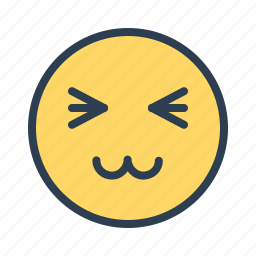 anime, avatar, emoticon, emotion, face, kitty, smiley icon