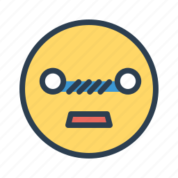 avatar, confused, emoticon, emotion, face, shocked, smiley icon