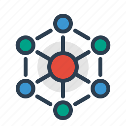 communication, connect, connection, internet, social network, structure icon