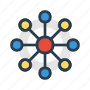 cloud, communication, connection, relations icon