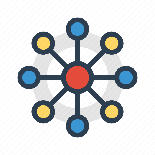 cloud, communication, community, connection, relations, social network icon