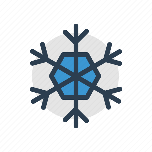 christmas, cold, frost, ice, snow, snowflake, winter icon