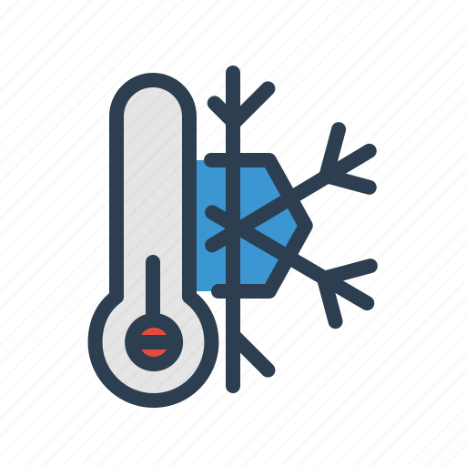cold, freeze, frost, low temperature, snowflake, weather, winter icon