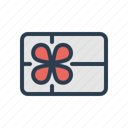 bonus, card, christmas, discount, gift, winter, xmas icon