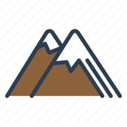 holidays, mountains, skis, trip, vacation, winter, winter sports icon