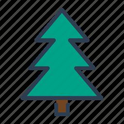 christmas, decoration, pine, tree, winter, xmas icon