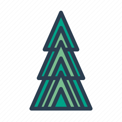 christmas, decoration, holiday, pine, tree, winter, xmas icon