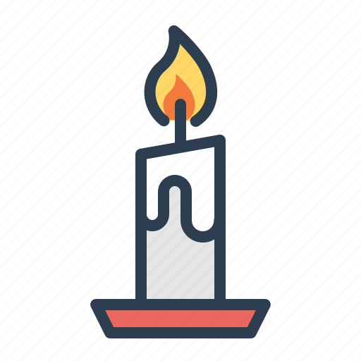 candle, christmas, decoration, fire, light, winter, xmas icon