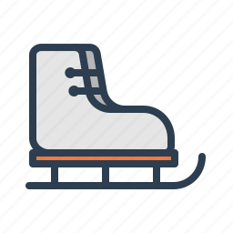 boot, ice skates, inline skates, skate shoes, skating, sport, winter icon