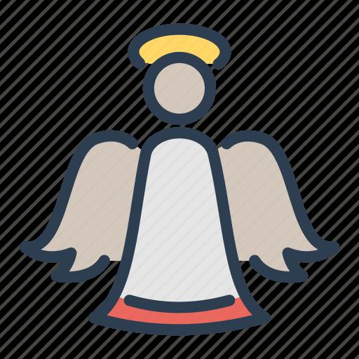 angel, christmas, holy spirit, xmas icon