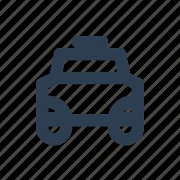 car, location, parking area, public service, rent, taxi icon