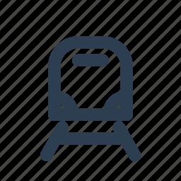 location, rail, railway, station, train, transport, transportation icon