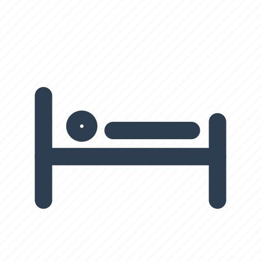 accomodation, bed, hostel, hotel, location, sleep, sleeping icon
