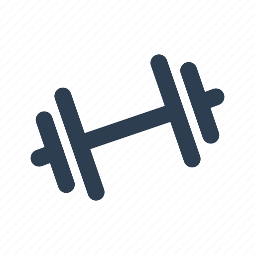 barbell, dumbbell, exercise, fitness center, gym, location, sport icon