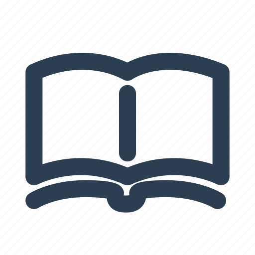book store, education, knowledge, learning courses, library, location, reading icon