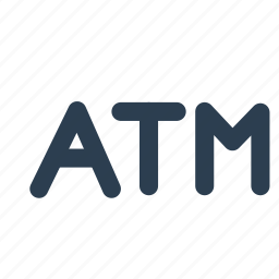 atm, bank, bankomat, location, machine, money, withdrawal icon