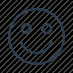 avatar, emoticon, emotion, face, happy, positive, smiley icon