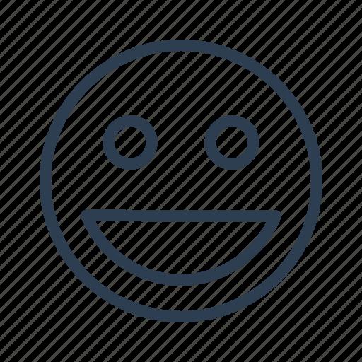 avatar, emoticon, emotion, face, happy, smile, smiley icon