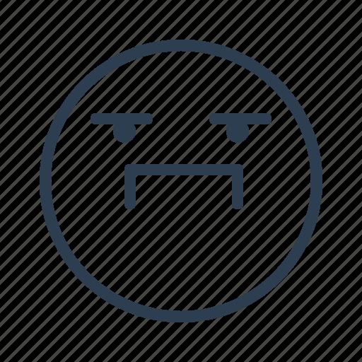 avatar, emoji, emoticon, emotion, face, proud, smiley icon