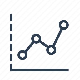 analytics, chart, earnings, graph, sales report, statistics, stats icon