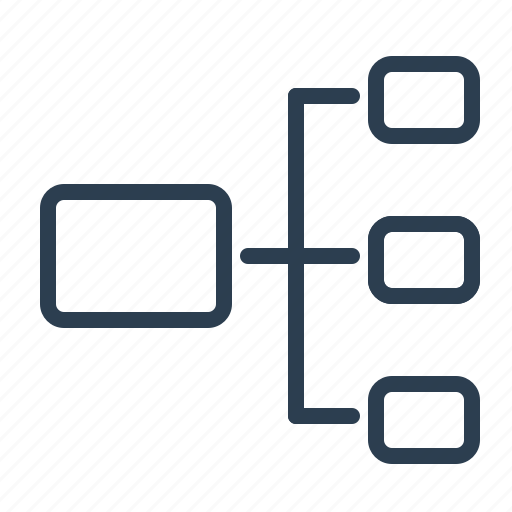 chart, diagram, equal, plan, scheme, structure, workflow icon
