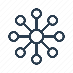 chart, connection, diagram, network, plan, scheme, structure icon