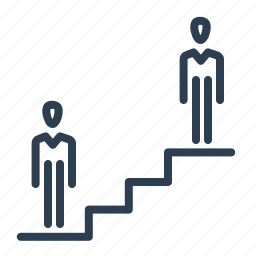 business, career, competitive, concurrency, growth, increase, ladder icon